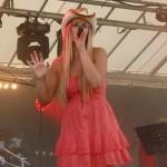 Aziliz Manrow et  son Country Band à Bain-de-Bretagne août 2013