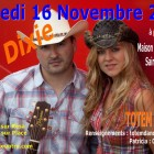 Aziliz Manrow et LIL'DIXIE à Ste Seve 29 le 16 novembre 2013