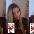Joyeux noel en chanson de la part d'Aziliz manrow…. un petit cadeau : Jingle Bells !