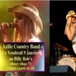 Aziliz Country Band en concert au Billy Bob's – Disney Village