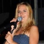 Aziliz Manrow avec Lil' Dixie en concert à Rue (80)
