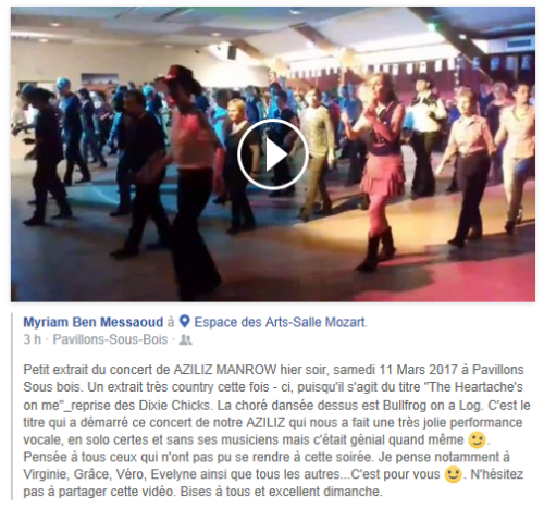 commentaires bal concert